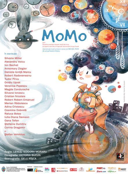 Momo sau despre povestea timpului furat la Teatrul Excelsior