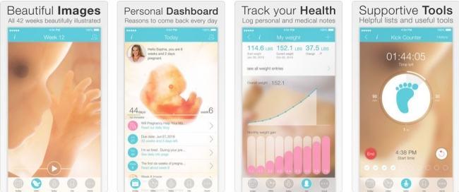 Top 7 aplicatii gratuite pentru femeile insarcinate