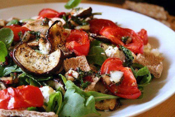 Salata de vinete la gratar