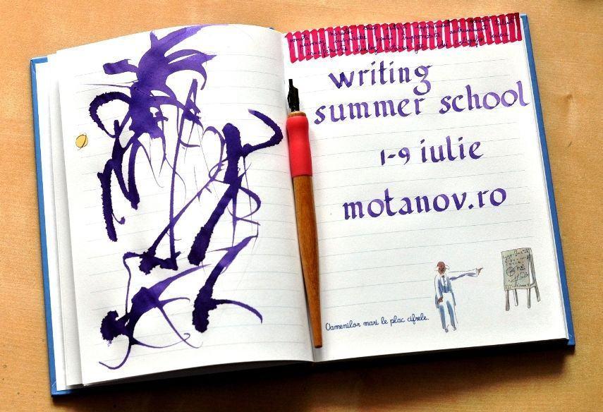 Writing Summer School la Academia Motanov