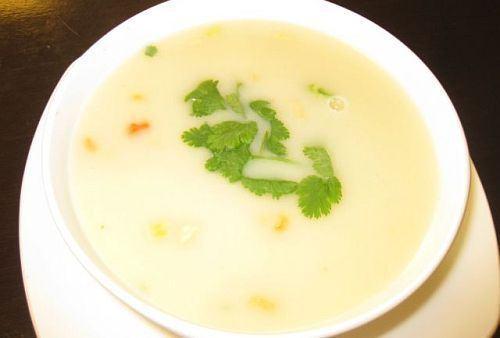 Supa crema de cartofi, de post