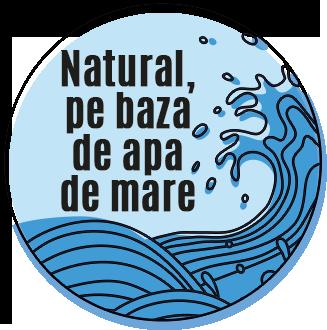 Natural pe baza de apa de mare