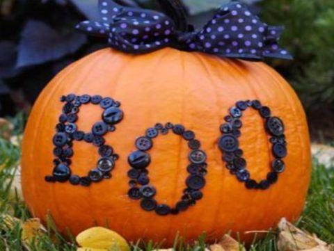 9 idei simple pentru decorat dovleacul de Halloween - Dovleac in tendinte
