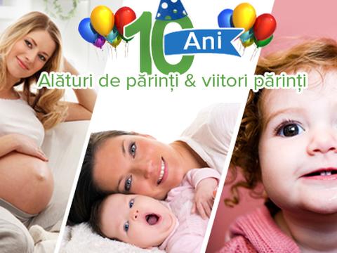 10 ani de Copilul.ro – o petrecere de nota 10!