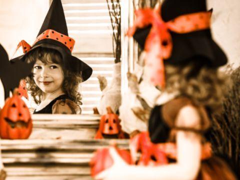 Halloween - Planse de colorat pentru copii