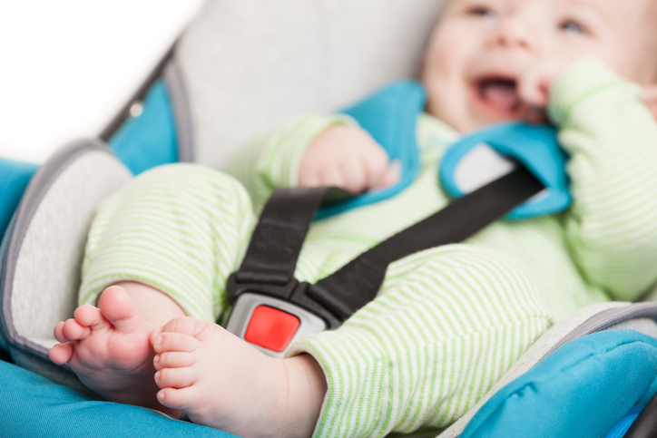 Siguranta nou-nascutului in masina
