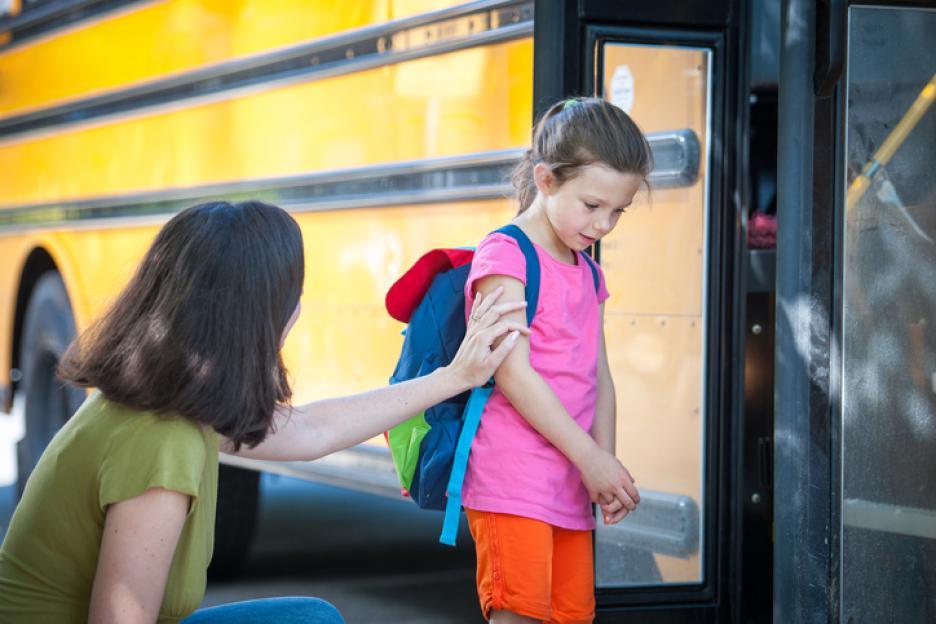 Ce faci cand copilul plange dupa tine la scoala?