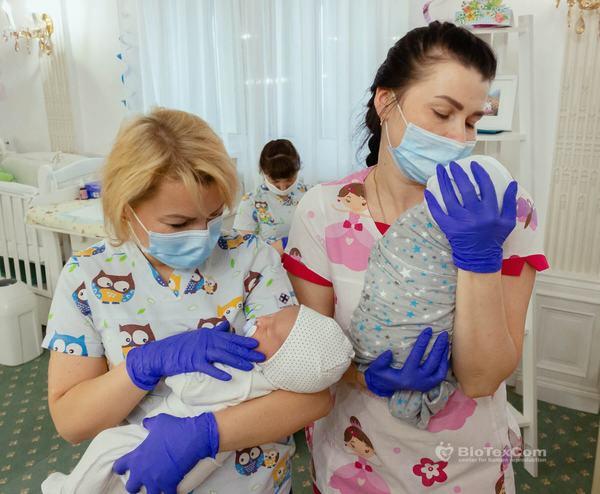 72 de copii nascuti din mame surogat plang in patuturile lor asteptandu-si parintii