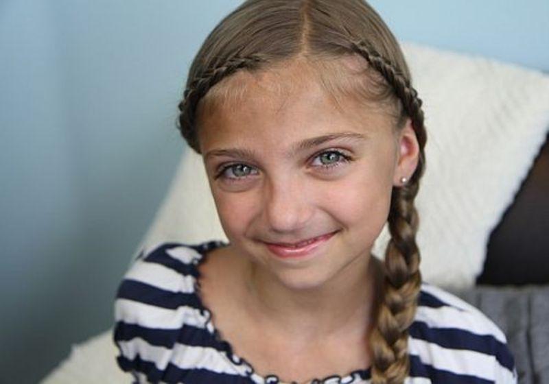 Coafuri de vara la moda pentru fetite
