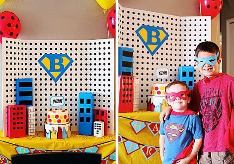 6 teme inspirate pentru petrecerea baieteilor