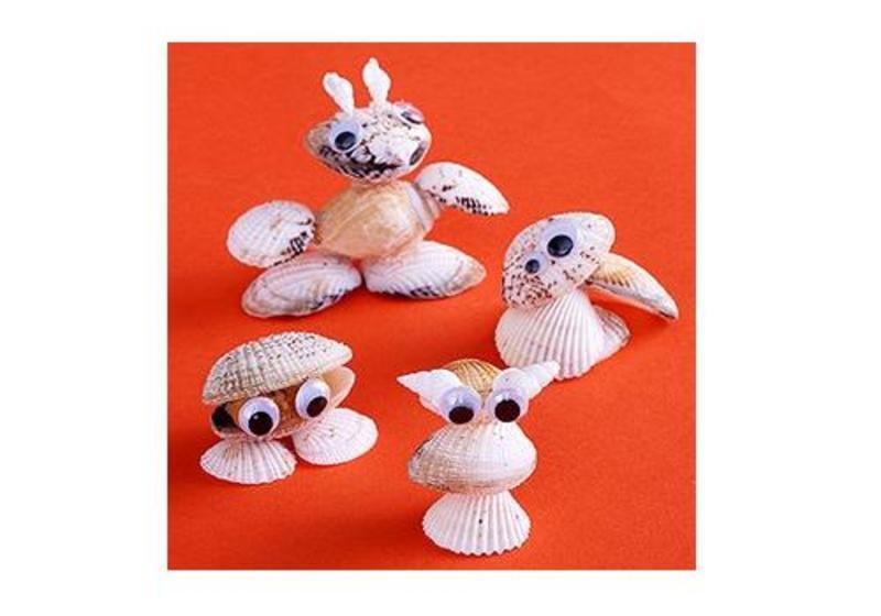 6 crafturi pentru copii inspirate din natura