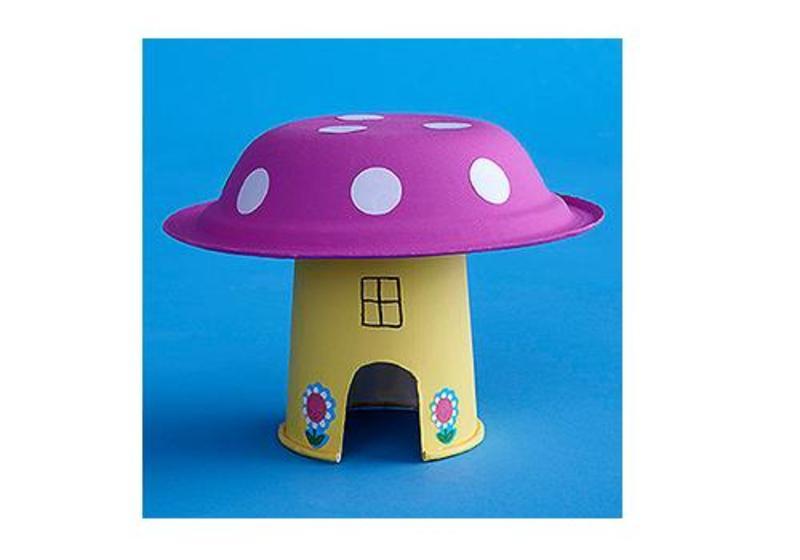 6 crafturi din farfurii de plastic, pentru copii