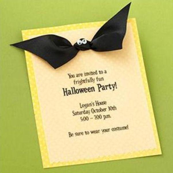 Cum sa faci invitatii haioase pentru petrecerea de Halloween