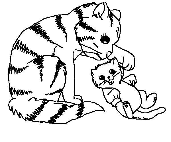 Pisica Si Pisicuta Educatie Copilulro
